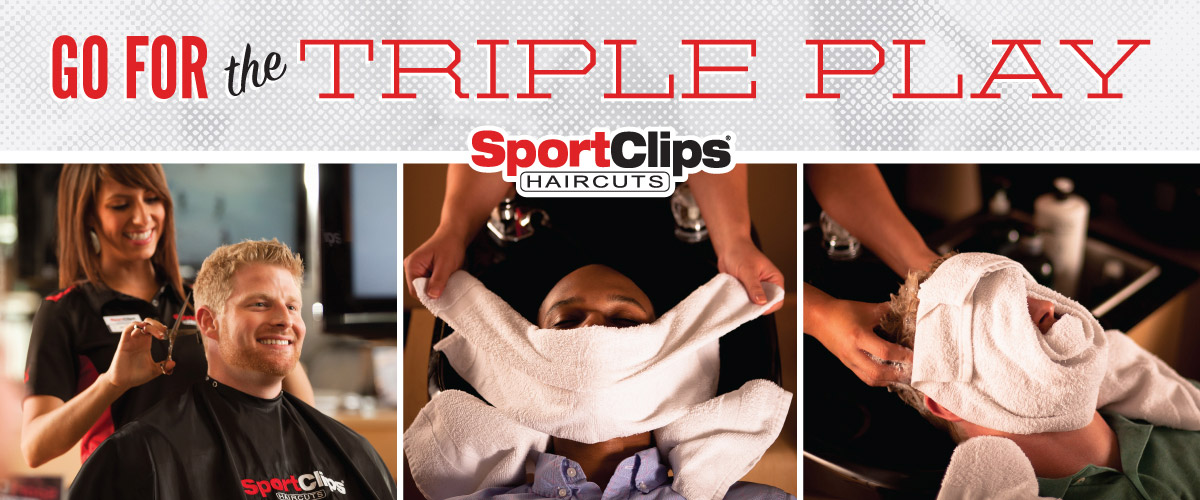 The Sport Clips Haircuts of Oldsmar  Triple Play